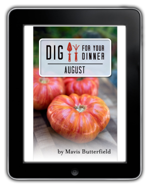 Dig For Your Dinner August eBook