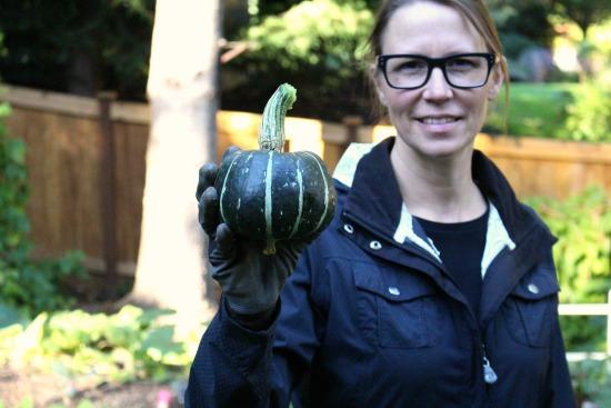 Harvesting Hubbard Squash and Other Fun Stuff