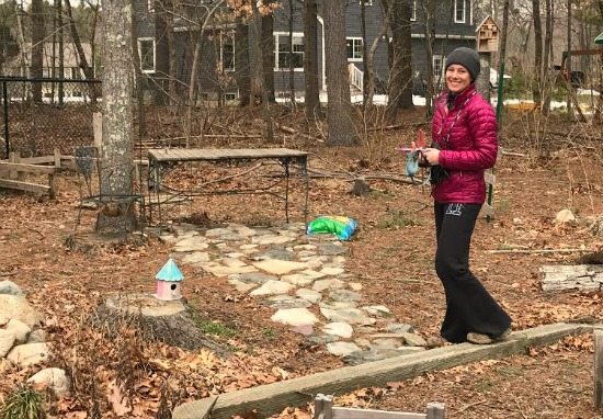 Hanging Out with My Friend Heather from Massachusetts and Pictures of Her Winter Garden